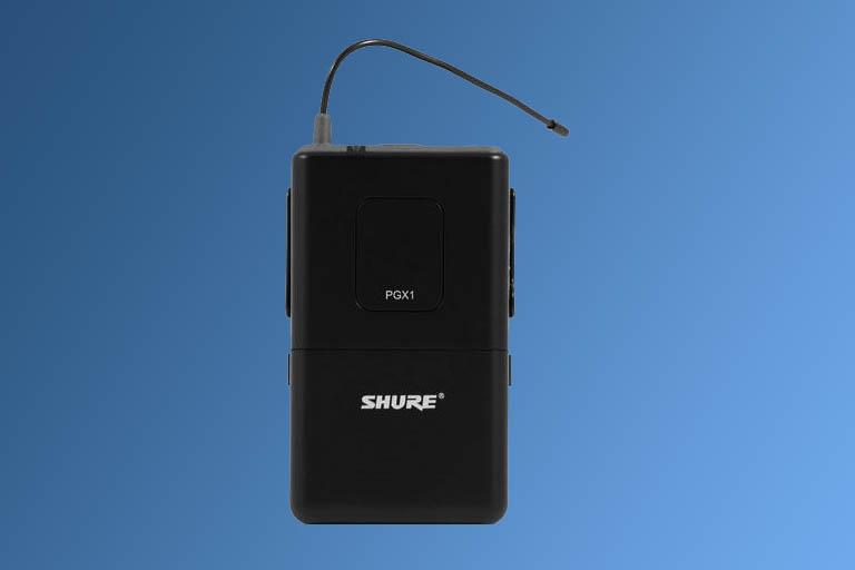 Shure Bodypack (lavilier) Wireless MicrophonesBodypack image